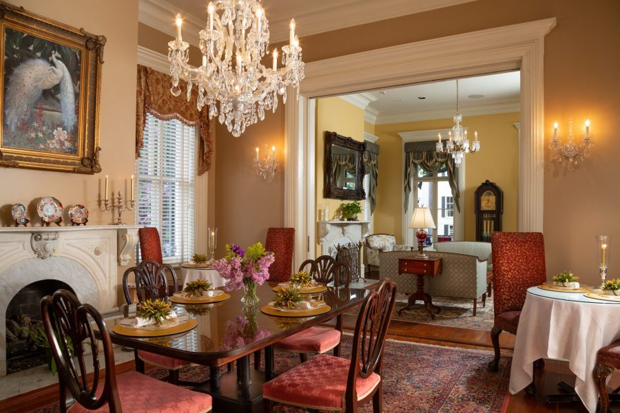 West Liberty dining room