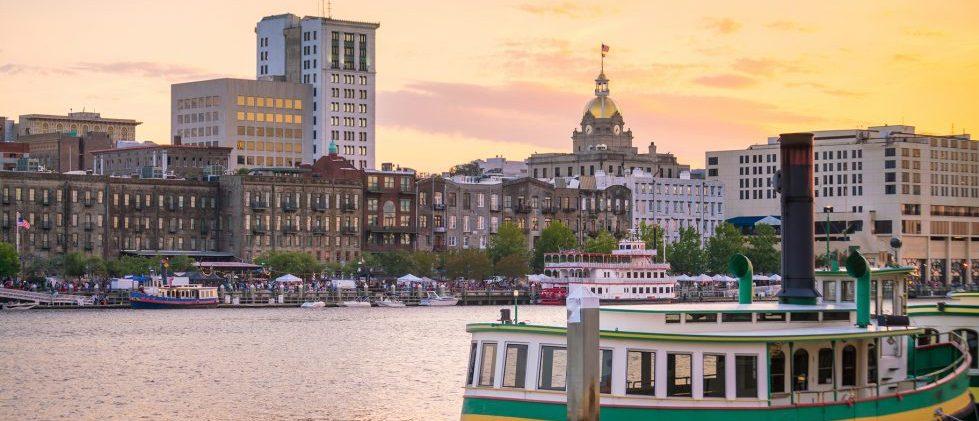 Savannah GA Getaway Skyline