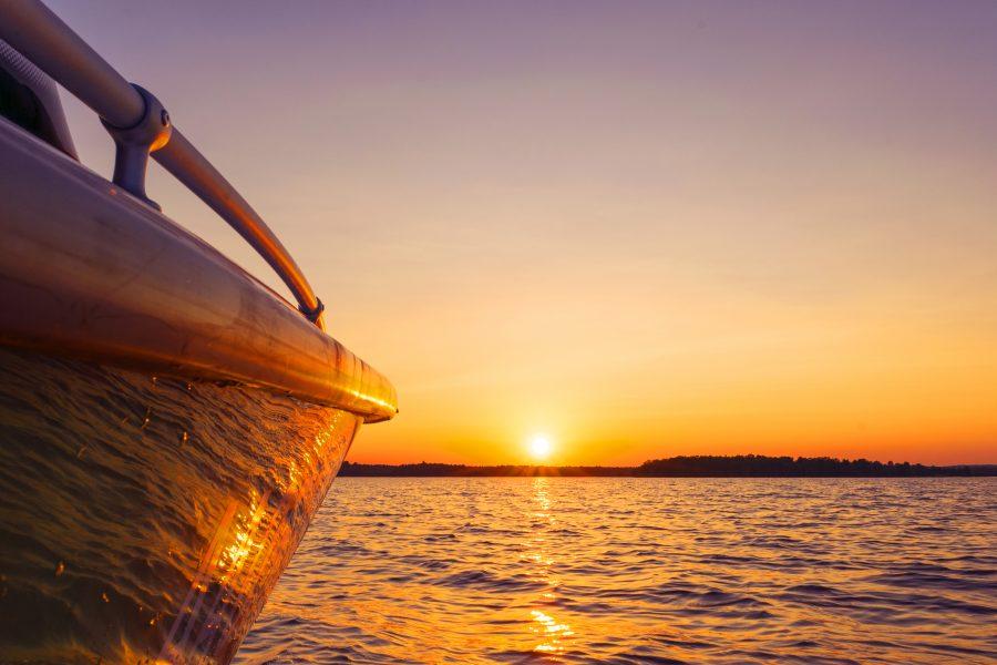 Sunset Boat Tour in Savannah